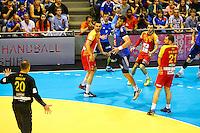 Luka Karabatic - 03.05.2015 - France / Macedoine - Qualifications Championnats d'Europe -Toulouse<br />Photo : Manuel Blondeau / Icon Sport