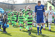 Match day mascot during the EFL Sky Bet League 2 match between Forest Green Rovers and Milton Keynes Dons at the New Lawn, Forest Green, United Kingdom on 30 March 2019.