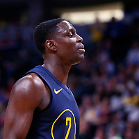 03 April 2018: Indiana Pacers guard Darren Collison (2) is seen during the Denver Nuggets 107-104 victory over the Indiana Pacers, at the Pepsi Center, Denver, Colorado, USA.