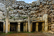 Ġgantija is a two megalithic temple complex erected during the Neolithic Age more than 5500 years old, some of the world's oldest manmade religious structures. Together with other similar structures have been designated a UNESCO World Heritage Site.