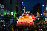 17/07/2015 repro free. The Galway International Arts Festival presented The Giant Divas & Les Tambours  over the weekend to the delight of  thousands. The Galway International Arts Festival runs from July 26th .  <br /> Photo:Andrew Downes:XPOSURE