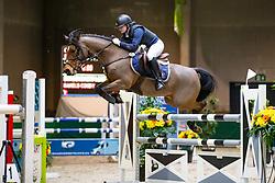 Schoonbaert Lore, BEL, Bakels Cooky<br /> Nationaal Indoor Kampioenschap Pony's LRV <br /> Oud Heverlee 2019<br /> © Hippo Foto - Dirk Caremans<br /> 09/03/2019