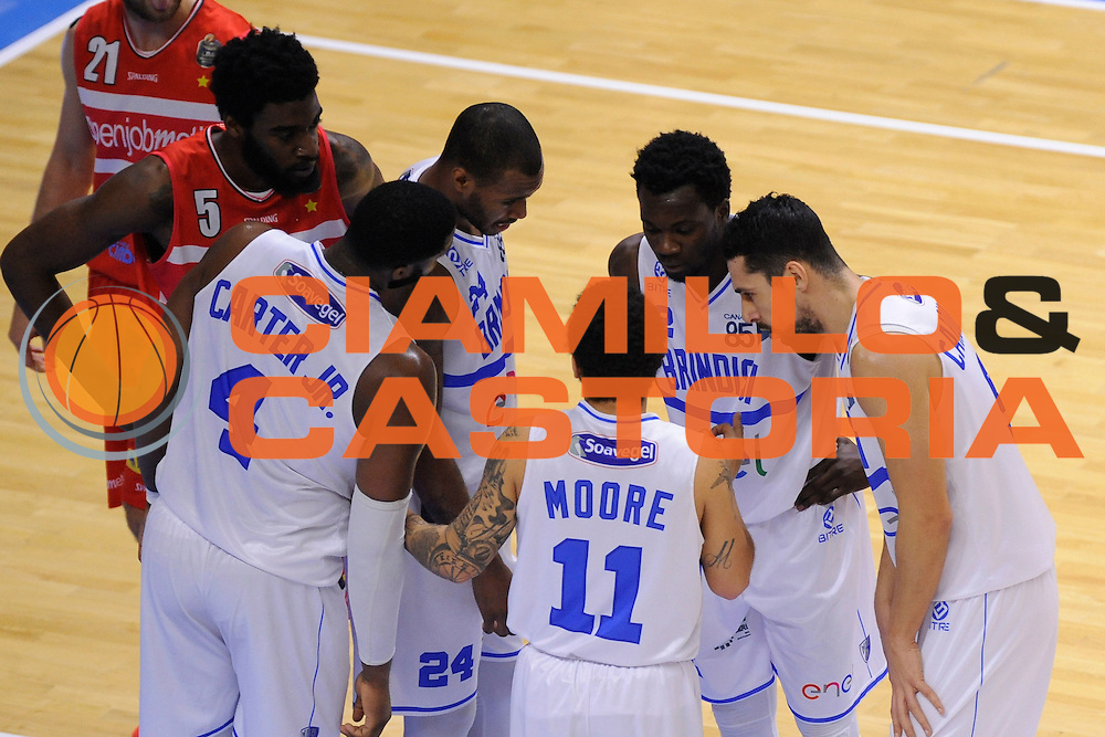 Enel New Basket Brindisi<br /> Enel New Basket Brindisi - Openjobmetis Pallacanestro Varese<br /> Lega Basket Serie A 2016/2017<br /> Brindisi 12/02/2017<br /> Foto Ciamillo-Castoria