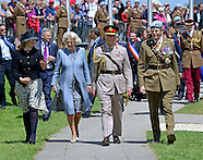 70th D-Day Commemoration - Charles & Camilla, Pegasus Bridge