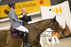 Philippaerts Nicola, (BEL), Challenge vd Begijnakker<br /> VDL Groep Prijs<br /> Indoor Brabant - 's Hertogenbosch 2015<br /> © Hippo Foto - Dirk Caremans