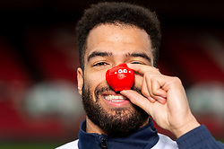 Lewis Champion of Bristol Flyers during a photo call at Ashton Gate for Red Nose Day - Ryan Hiscott/JMP - 06/03/2019 - SPORT - Ashton Gate Stadium - Bristol, England - Bristol Sport Red Nose Day