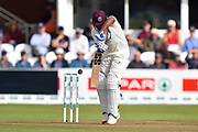 Wicket - Murali Vijay of Somerset edges the ball and is caught by Adam Wheater of Essex off the bowling of Sam Cook of Essex during the Specsavers County Champ Div 1 match between Somerset County Cricket Club and Essex County Cricket Club at the Cooper Associates County Ground, Taunton, United Kingdom on 23 September 2019.