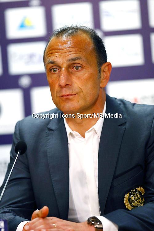 Michel Der Zakarian - 25.04.2015 - Toulouse / Nantes - 34eme journee de Ligue 1<br />Photo : Manuel Blondeau / Icon Sport