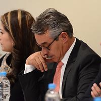 METEPEC, México, 28 de Junio del 2017.- Francisco Osorno Soberón, Secretario del Trabajo, encabezó la sesión de la Comisión Interinstitucional para la Erradicación del Trabajo Infantil en las instalaciones de la Secretaría de Desarrollo Agropecuario (SEDAGRO). Agencia MVT / Arturo Hernández.