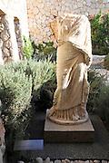 Israel, Jerusalem, Israel Museum Roman period sculpture from Ashkelon