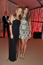 Left to right, ALICE BRUDENELL-BRUCE and JEMIMA KHAN at the Raisa Gorbachev Foundation Gala held at the Stud House, Hampton Court, Surrey on 22nd September 22 2011