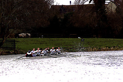 The Lent Bumps on the River Cambridge ..Homerton College, Ladies team in the 2nd division race,  March 2, 2000. Photo by Andrew Parsons / i-images..