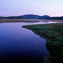 Acadia N.P., ME. Bass Harbor marsh. Tidal marsh. Western Mtn.