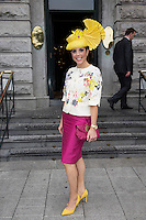 31/07/2014 There was an excellent turnout of fashionable ladies at Hotel Meyrick for their Most Stylish Lady Competition, judged by two of Ireland's leading fashion commentators Sonya Lennon  and Brendan Courtney .  At the event was  Avril Donnellan Picture:Andrew Downes