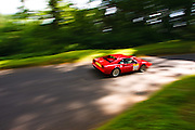 Car number 59 (driven by Pauline Goodwin ) at Shelsley Hill climb 6/6/10
