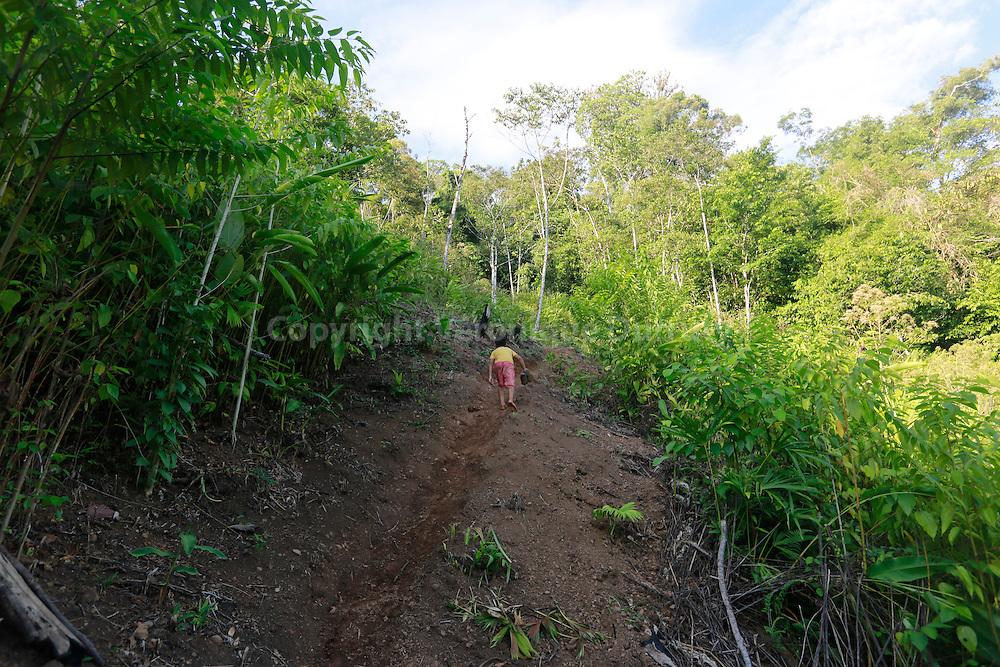 Guaymi native reserve, Osa Peninsula, Costa Rica // Reserve indigene Guaymi, Peninsule de Osa, Costa Rica