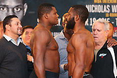 December 18, 2015: Luis Ortiz vs Bryant Jennings Weigh-In