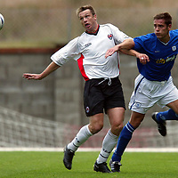 Clyde v St Johnstone...13.09.03<br />Alan Kerngham and Paul Bernard<br /><br />Picture by Graeme Hart<br />Perthshire Picture Agency<br />Tel: 01738 623350 / 07990 594431