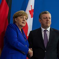 15 Merkel empfängt den Ministerpräsidenten von Georgien