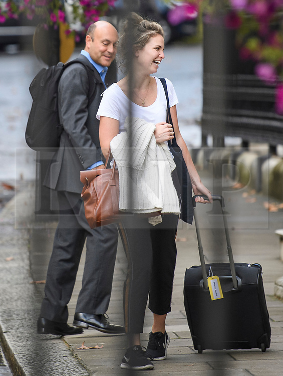 © Licensed to London News Pictures. 25/09/2019. London, UK. Business advisor to Number 10 ANDREW GRIFFITH (rear) is seen arriving at Downing Street in Westminster on the day that MPs return to Parliament. The Supreme Court in London yesterday ruled that Parliament had been suspended illegally after British Prime Minster Boris Johnson prorogued parliament just weeks before the UK is due to leave the EU on October 31st. Photo credit: Ben Cawthra/LNP