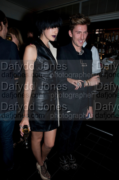 AGYNESS DEHN; HENRY HOLLAND, Dinner hosted by editor of British Vogue, Alexandra Shulman in association with Net-A-Porter.com in honour of 25 years of London Fashion Week and Nick Knight. Caprice. London.  September 21, 2009