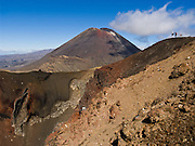 "Mount Ngauruhoe (2291 metres or 7516 feet elevation) last erupted in 1975 in Tongariro National Park, North Island, New Zealand. In 1990 and 1993, UNESCO honored Tongariro National Park as a World Heritage Area and Cultural Landscape. Tongariro National Park served as a location for fictional Mordor and Mount Doom in the ""Lord of the rings"" Motion Pictures."