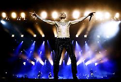 June 29, 2017 - Stockholm, Sweden - BrÃ¥vallafestivalen 2017, ''Linkin Park'', Chester Bennington, sÃ¥ngare USA, scenbilder lättklädd tatueringar (Credit Image: © Aftonbladet/IBL via ZUMA Wire)