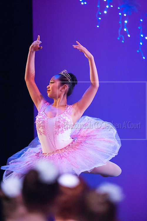 Wellington, NZ. 6.12.2015.  Sugar Plum Fairy, from the Wellington Dance & Performing Arts Academy end of year stage-show 2015. Little Show, Sunday 3.15pm. Photo credit: Stephen A'Court.  COPYRIGHT ©Stephen A'Court