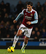 Picture by David Horn/Focus Images Ltd +44 7545 970036<br /> 23/11/2013<br /> James Tomkins of West Ham United during the Barclays Premier League match at the Boleyn Ground, London.