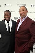 14 June 2010- Harlem, New York- l to r: Chris Tucker and Richard Parsons at The Apollo Theater's 2010 Spring Benefit and Awards Ceremony hosted by Jamie Foxx inducting Aretha Frankilin and Michael Jackson, and honoring Jennifer Lopez and Marc Anthony co- sponsored by Moet et Chandon which was held at the Apollo Theater on June 14, 2010 in Harlem, NYC. Photo Credit: Terrence Jennngs/Sipa
