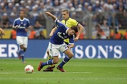 20-10-2012 VOETBAL: BORUSSI DORTMUND - FC SCHALKE 04: DORTMUND<br /> Klaas-Jan Huntelaar en Lukasz Piszczek <br /> ***NETHERLANDS ONLY***<br /> ©2012-FotoHoogendoorn.nl/Oliver Vogler
