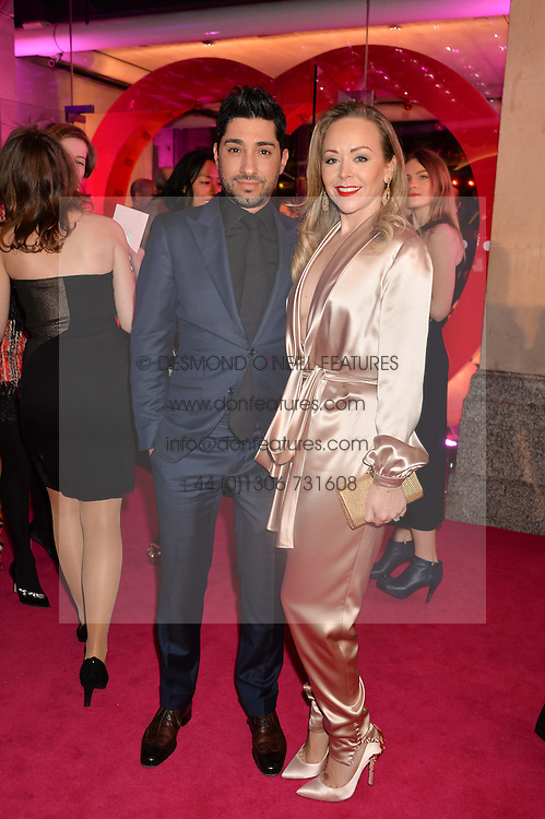 TAMARA RALPH and MICHAEL RUSSO at The Naked Heart Foundation's Fabulous Fund Fair hosted by Natalia Vodianova and Karlie Kloss at Old Billingsgate Market, 1 Old Billingsgate Walk, London on 20th February 2016.