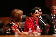 Deepka Lalwani talks during the Milpitas City Council Forum at Milpitas City Hall in Milpitas, California, on October 9, 2014. (Stan Olszewski/SOSKIphoto)
