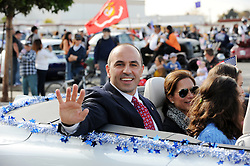 Jimmy Panetta was among the veterans who participated in Monday's 3rd Annual Monterey County Veterans Parade in Salinas.