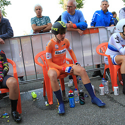 31-08-2017: Wielrennen: Boels Ladies Tour: Roosendaal: Lisa Brennauer: Ellen van Dijk: Annemiek van Vleuten