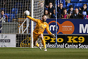 Peterborough United goalkeeper Ben Alnwick (1)  during the Sky Bet League 1 match between Peterborough United and Coventry City at London Road, Peterborough, England on 25 March 2016. Photo by Simon Davies.