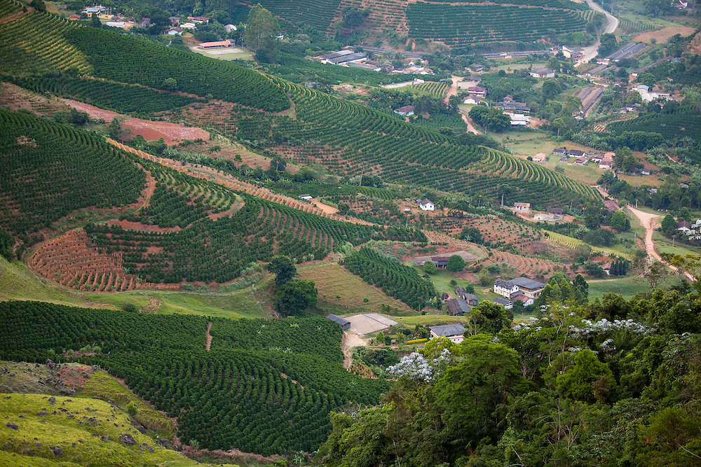 Venda Nova do Imigrante_ES, Brasil...Vista panoramica de Venda Nova do Imigrante...The panoramic view of Venda Nova do Imigrante...Foto: LEO DRUMOND / NITRO