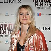 Director Kate Mcmullen - Comme Les Roses attend 'Souls of Totality' film at Raindance Film Festival 2018, London, UK. 30 September 2018.