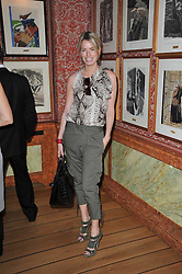 CAROLINE HABIB at a lunch hosted by Roger Viver in honour of Bruno Frisoni their creative director, held at Harry's Bar, 26 South Audley Street, London on 31st March 2011.