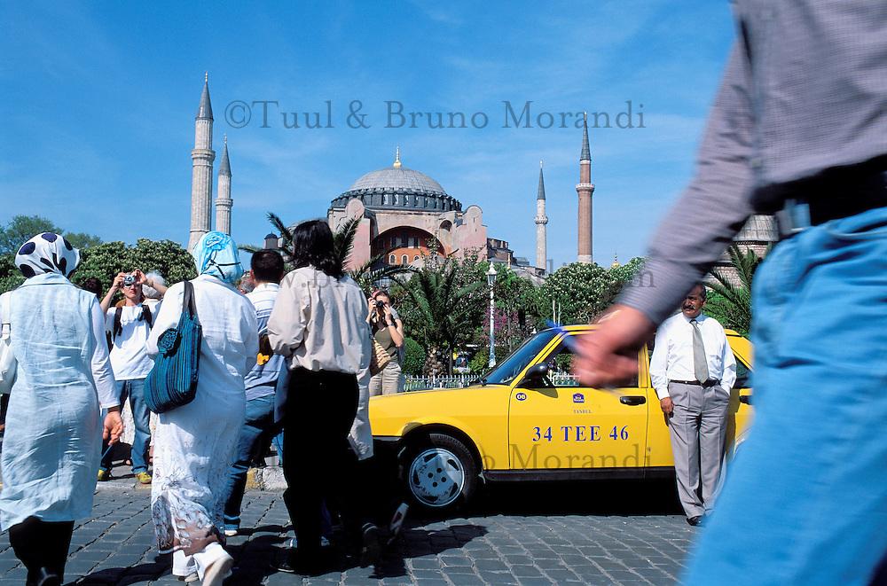 Turquie. Province de Marmara. Istanbul. Mosquée Sainte Sophie.