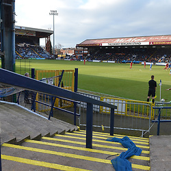 TELFORD COPYRIGHT MIKE SHERIDAN 16/2/2019 - A general view of Edgeley Park, Stockport during the Vanarama Conference North fixture between Stockport County and AFC Telford United