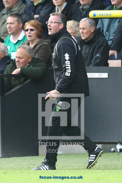 Picture by Paul Chesterton/Focus Images Ltd.  07904 640267.07/04/12.Norwich Manager Paul Lambert during the Barclays Premier League match at Carrow Road Stadium, Norwich.