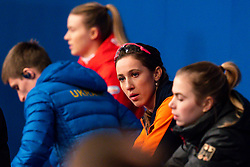 Suzanne Schulting (NED) after the 1500 meter semifinals during ISU European Short Track Speed Skating Championships 2020 on January 25, 2020 in Fonix Hall, Debrecen, Hungary