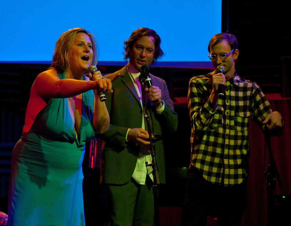 Bridget Everett, Kenny Mellman, Neal Medlyn