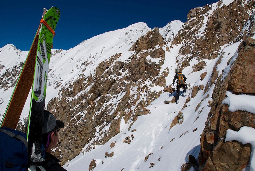 Skiers: Richard Post &amp; Martin Smith<br />