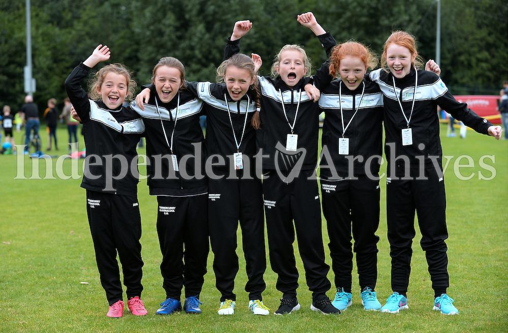 14 Aug 2016:  Sligo U12 7 a-side Girls Soccer team. 2016 Community Games National Festival 2016.  Athlone Institute of Technology, Athlone, Co. Westmeath. Picture: Caroline Quinn