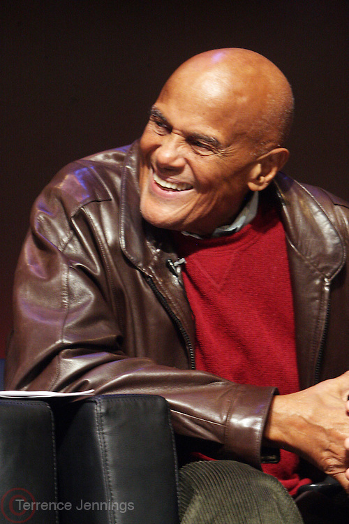 "October 20, 2012-New York, NY: Actor/Social Activist Harry Belafonte at From Beat Street to These Streets: Hip Hop Then and Now panel discussion and special screening of "" Beat Street"" co-hosted by the Schomburg Center, the Tribeca Youth Screening Series & Belafonte Enterprises and held at The Schomburg Center on October 20, 2012 in Harlem, New York City  (Terrence Jennings)"