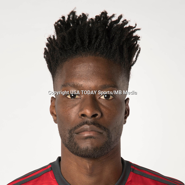 Feb 25, 2017; USA; Toronto FC player Tosaint Ricketts poses for a photo. Mandatory Credit: USA TODAY Sports