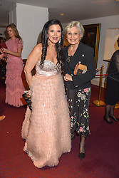 26 January 2020 - Olga Balakleets and Angela Rippon at the Ballet Icons Gala at the London Coliseum, St.Martin's Lane, London.<br /> <br /> Photo by Dominic O'Neill/Desmond O'Neill Features Ltd.  +44(0)1306 731608  www.donfeatures.com