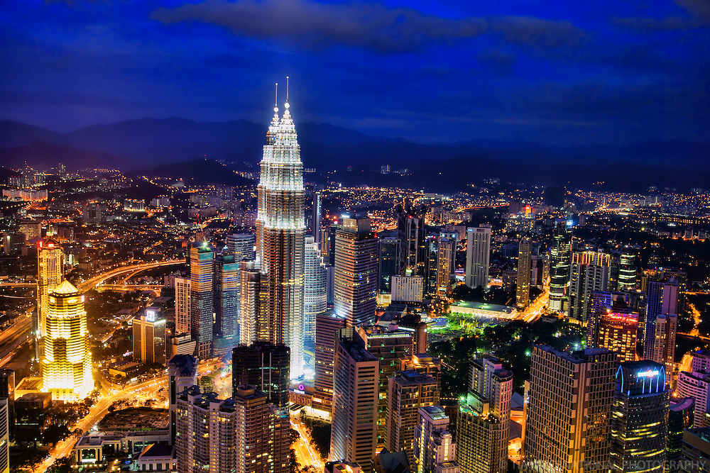 Kuala Lumpur @ Twilight